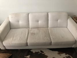 Sofa (needs a cleaning)