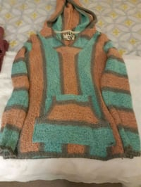gray, green, and orange sweater Mississauga, L5N