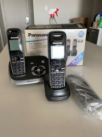 Panasonic home phone wireless - Telephone sans fil Panasonic