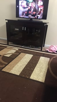 black and gray wooden TV stand Columbus, 43220