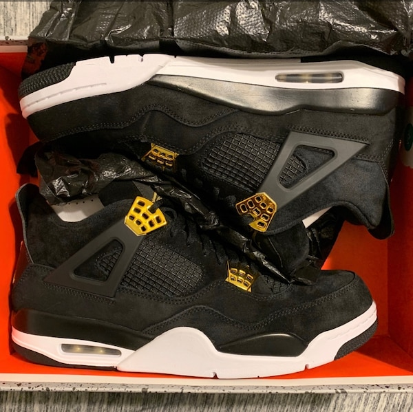Used Jordan Retro 4 Royalty Size 12 OG Box for sale in Pittston - letgo b48d25153