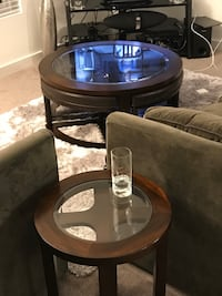 Coffee/table and side table