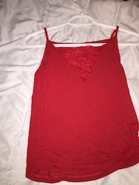 Red tank top Stonewall