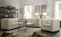 Carnis Beige Living Room Collection ***FREE DELIVERY & FINANCING**** Las Vegas