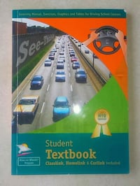 Driver's license textbook.  From Brisa driving school.