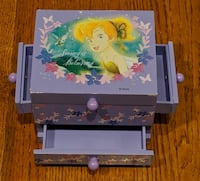 TinkerBell Jewelry Box With Mirror Pittsburgh