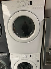 white front-load clothes washer 225 mi