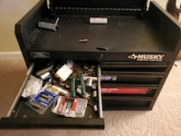 Husky double stack tool box tons of tools cant fit Linfield, 19468