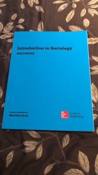 Collage text book, introduction to sociology bought in 2018 brand new  Brampton, L7A 2W2