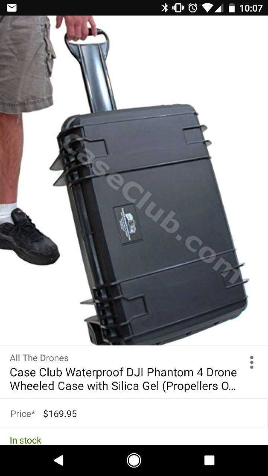 Case Club case for DJI Phantom  - United States