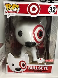"Funko Pop Bullseye 10"" Target Exclusive  Falls Church, 22041"