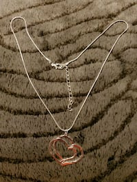 New Silver chain and Pendant.  Toronto, M2M 4B9