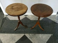 two round brown wooden tables Orlando, 32807