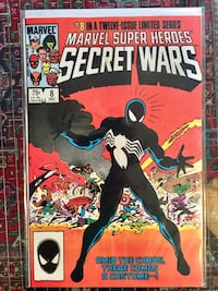 Secret Wars #8, 1st print, 1984, 8.5-9.5 Toronto, M5V 1M3