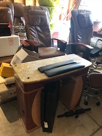 Pedicure chairs and manicure tables $200 each Liberty Lake, 99019