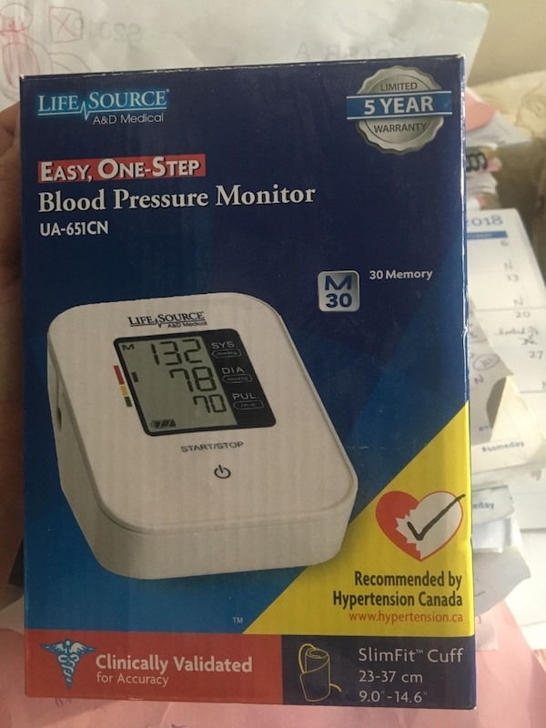 Life Source Blood Pressure Monitor