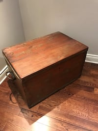 Antique chest/coffee table
