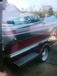 red and black speed boat Streetsboro