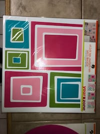 Wall Decorations-removable and reusable- BRAND NEW, NEVER OPENED