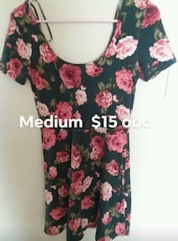 women's black and pink floral dress Carencro, 70520