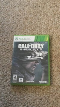 Call of Duty Ghosts Xbox 360 game case New Prague, 56071