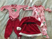 Baby's  first Christmas clothes 6-9 months Richmond, V6X