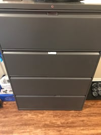 Filing cabinet with folders Surrey, V4A 6T6