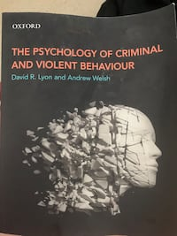 the psychology of criminal and violent behaviour Coquitlam, V3K 2B4