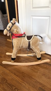 Plush Rocking Horse Brightwaters, 11718