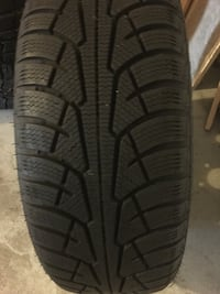 New winter tires with rims,size 215-60-16 Киркленд, H9J 4B4