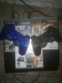 Sony PS4 console with controller and game cases Phoenix, 85051
