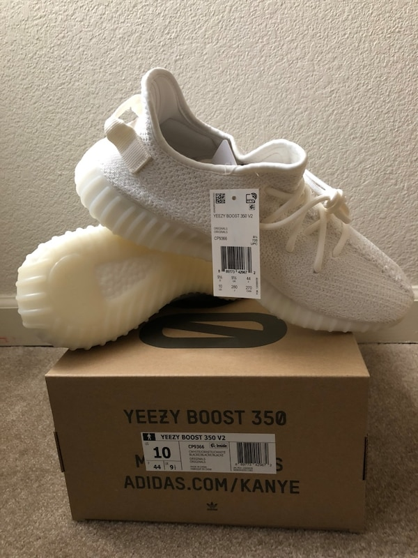 17a3259911a Begagnad Yeezy Boost 350 v2 cream white size 10 11 AUTHENTIC till ...