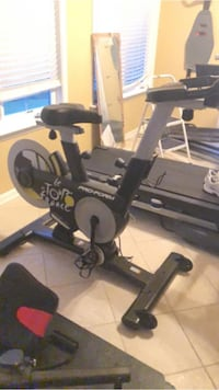 Tour De France stationary bike.  New out of the box, never been used.