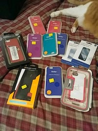 assorted color smartphone cases and smartphone cases Detroit, 48219