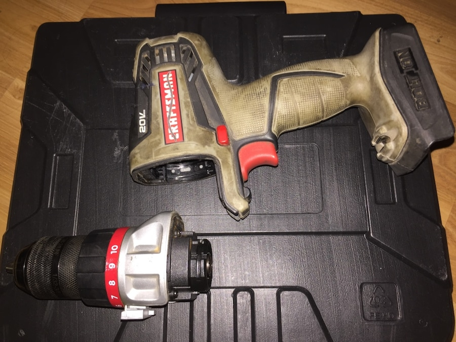 Craftsman 20V Bolt On Drill System with 3/8 Driver TOOL/DRIVER ONLY - Hemet