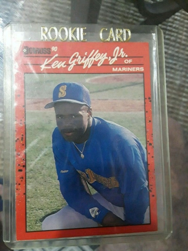 Donruss 90 Ken Griffey Jrrookie Card