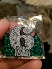 Electric Forest pin EDM 2019 Garden City, 48135
