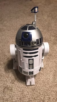 Rare Voice Activated Star Wars R2-D2 With List of Commands