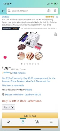 BRAND NEW - Manicure and Pedicure set - $15