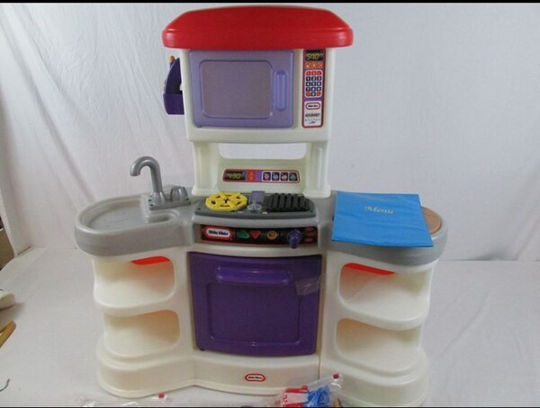Little tikes cookin sounds gourmet kitchen