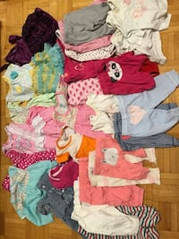 Baby girls assorted clothes 0-3 months Toronto, M9C 5N3