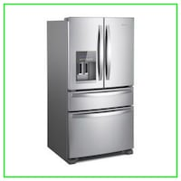 Scratch & Dent Whirlpool Four Door Refrigerator WRX735SDHZ Minneapolis