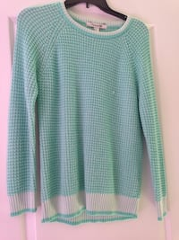 Mint cable knit sweater from forever 21, willing to negotiate fair price!  Herndon, 20171