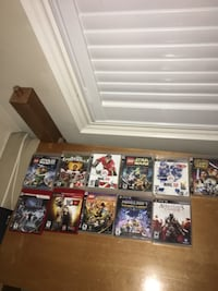 PS3 games  Pickering