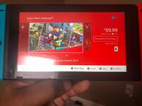 Switch with 64GB memory card and all original accessories, it's in like new condition and has a screen protector on it. Charlotte, 28217