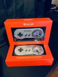 Nintendo Switch Super Nintendo Controller Set 2x Controllers-Like New Sound Beach, 11789