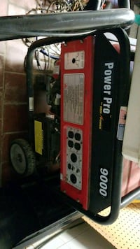 Push and pull 9000 watts power pro generator.  Bealeton, 22712