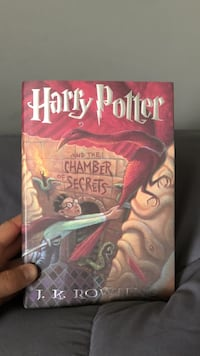 Harry Potter and the Chamber of Secrets First Edition Richland, 39218