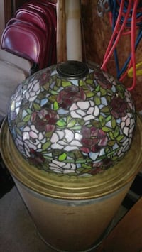 This is a Tiffany lamp shade Ogdensburg, 13669