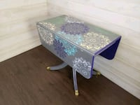 white and purple floral wooden table Boonsboro, 21713